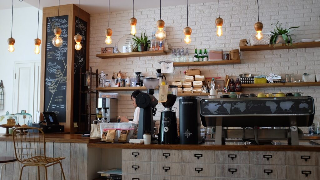 Best commercial espresso machine for small coffee shop.